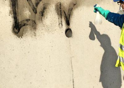 Enlèvement de graffiti -Entretien immeuble Régie immobilière – Syndic ACNET entreprise de nettoyage à Meyzieu – Pusignan Prestation rhone - ain - isère -Rhone-alpes