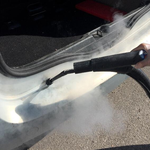 nettoyeur vapeur professionnel nettoyage vapeur automobile ACNET Le multiservice
